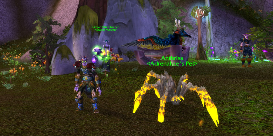 Anthriss tamed