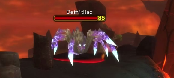 Deth'tilac - Rare Lava Spider in Patch 4.2