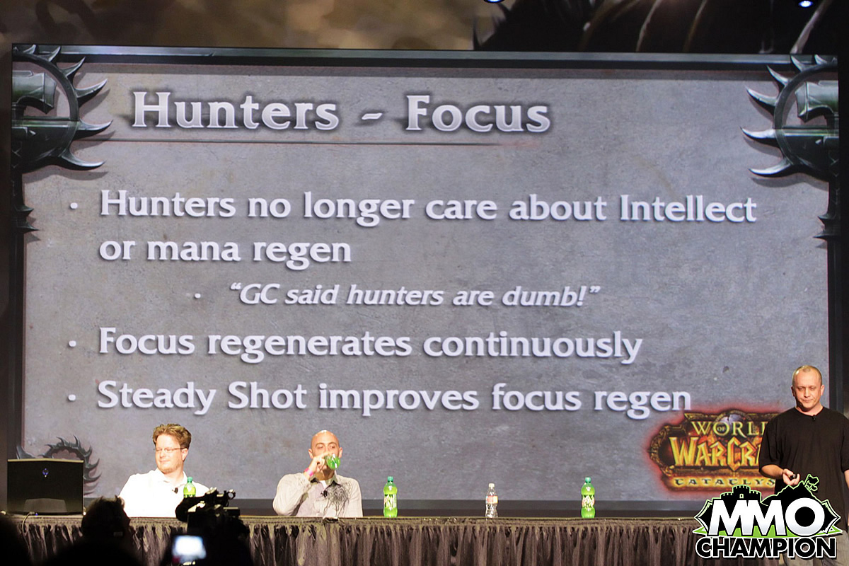 Hunters will use Focus