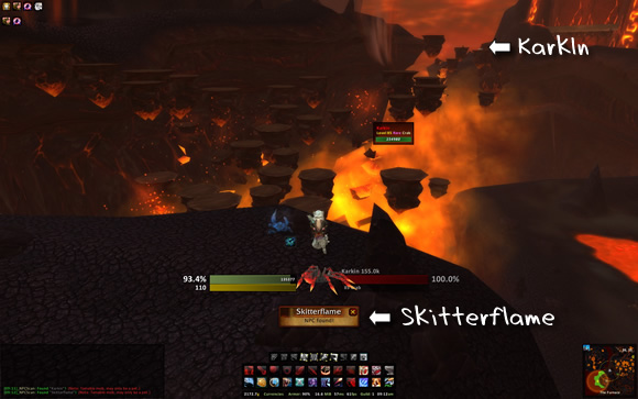 Karkin and Skitterflame