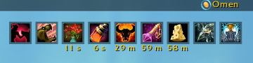 These were the buffs I had during the tame.