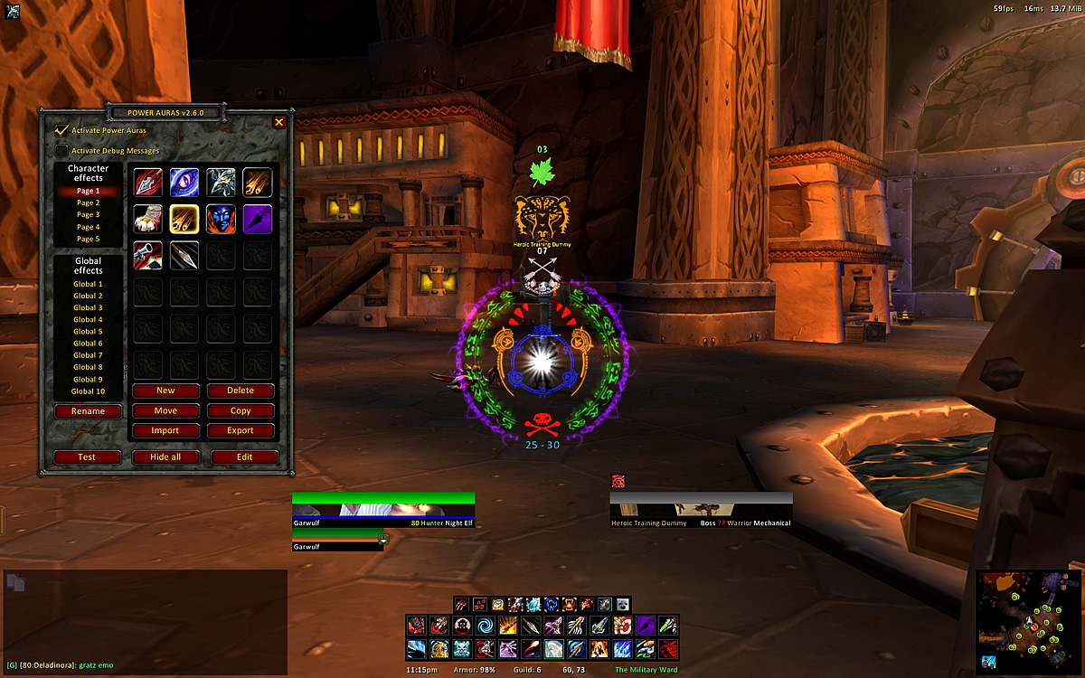 Power Auras Addon