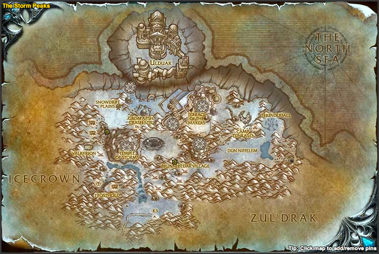 Skoll the Spirit Beast Spawn Locations Map