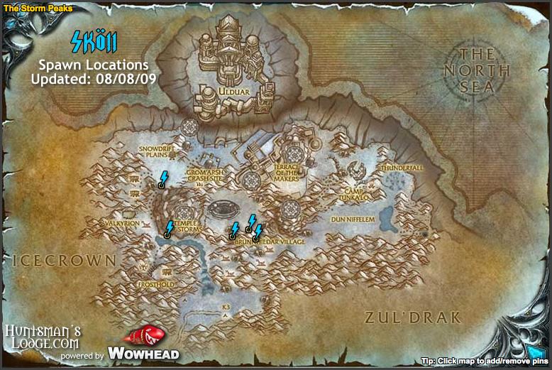 map coordinates wow