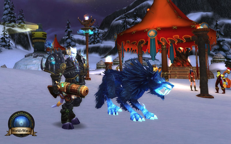 Skoll, an exotic Beast Mastery pet in 3.2