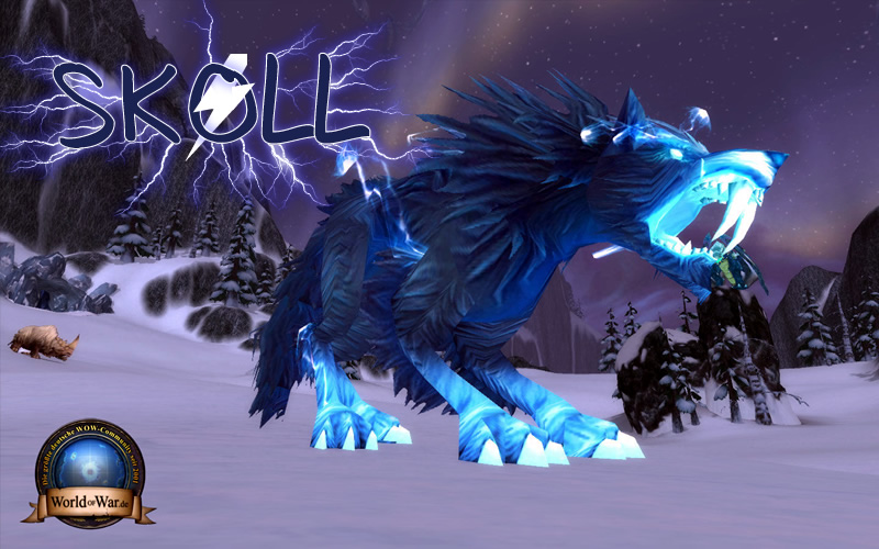 Skoll, the new Spirit Beast in Patch 3.2