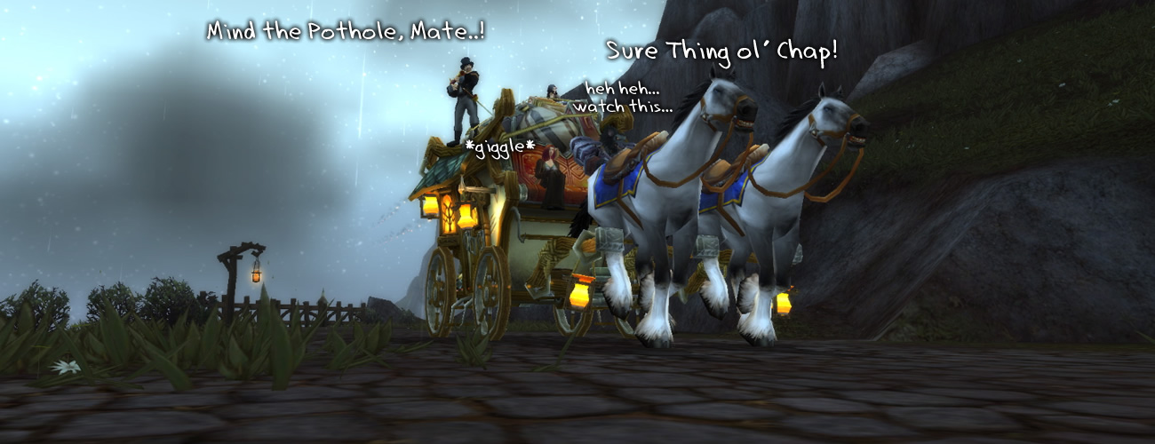Mr. Worgen's Worgen Wild Ride