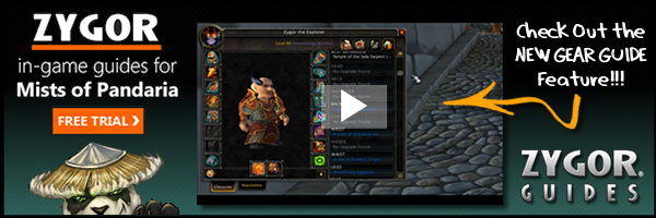 Zygor WoW Leveling Guides for Mists of Pandaria