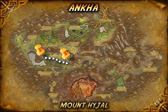 Ankha Map