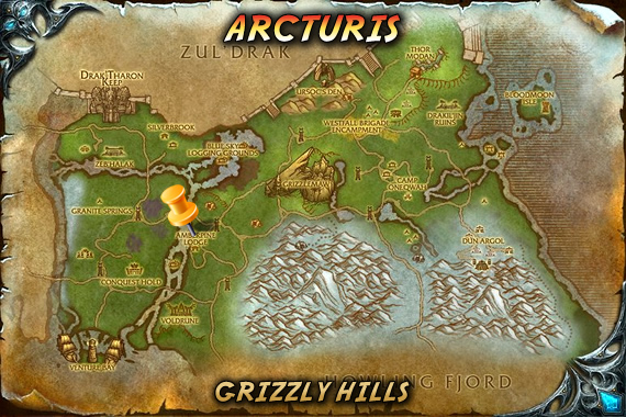 Arcturis Map