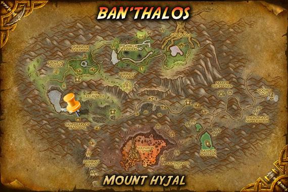 Ban'thalos Map