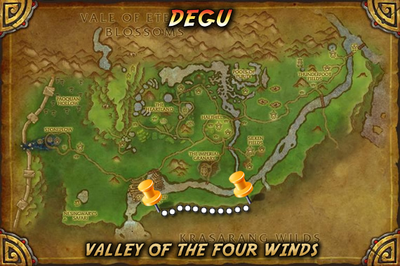 Degu's Spawn Location Path