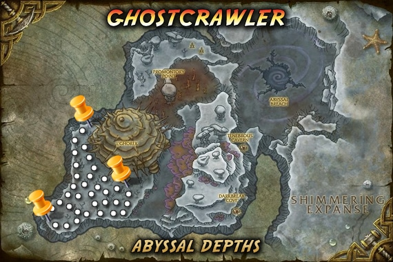 Ghostcrawler Map