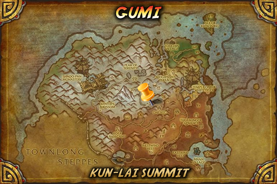Gumi's Spawn Location