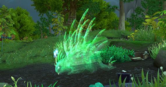Hutia, the Porcupine Spirit Beast