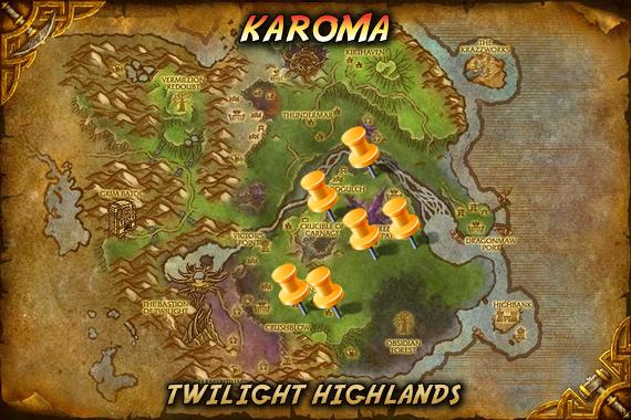 Karoma Map