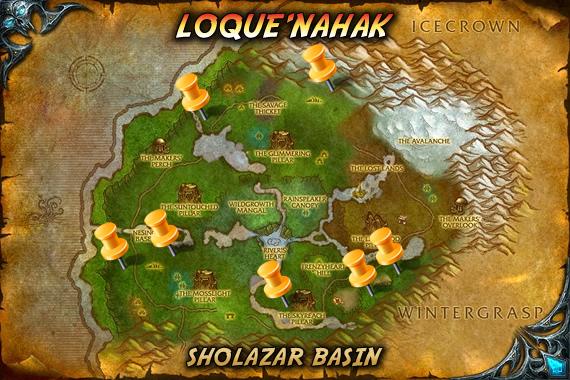 Loque'nahak Map