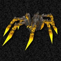 Anthriss - Yellow Lava Spider