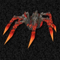 Skitterflame - Red Lava Spider