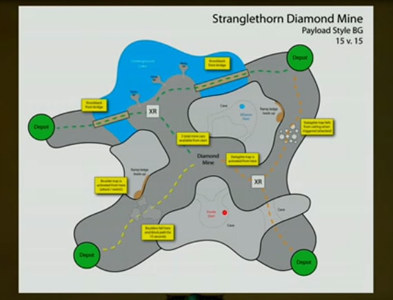 STV Diamond Mine BG Map