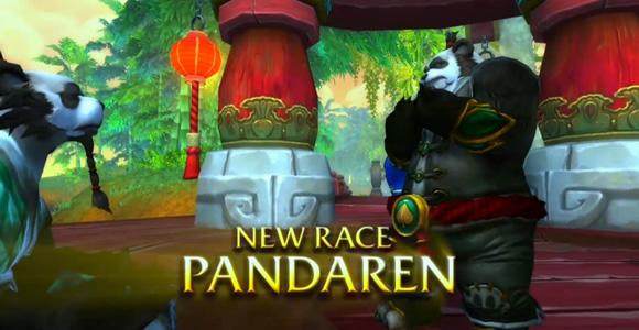 WoW Mists of Pandaria Pandaren Race
