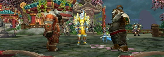WoW Mists of Pandaria Leveling