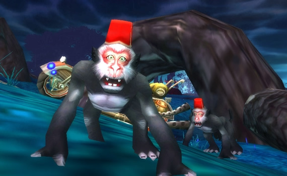 Gib the Banana-Hoarder with Darkmoon Monkey