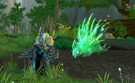 Hutia - Green Porcupine Spirit Beast