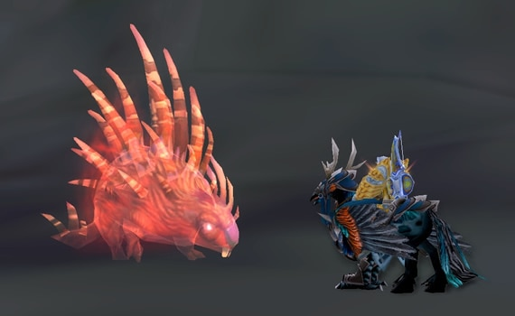 Red Porcupine Spirit Beast - Degu