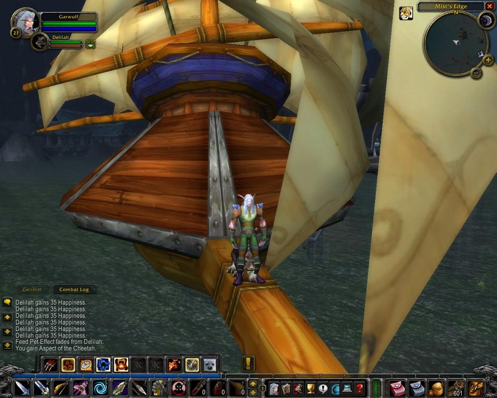 First WoW Screenshot