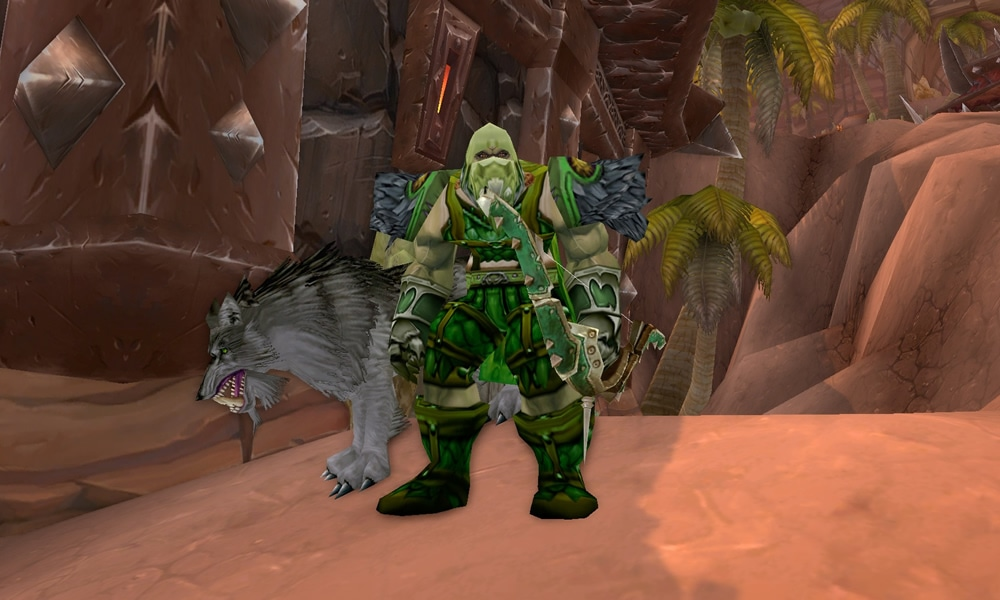 Hunter Green Transmog