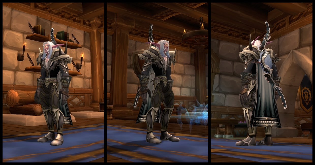Black Dragonscale Hunter Transmog