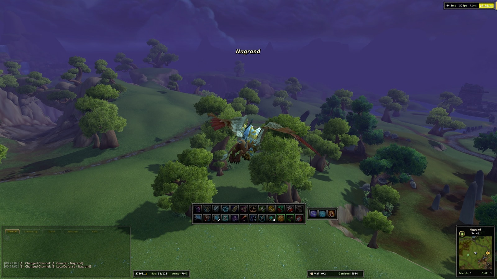 Gar UI in WoD 6.0.3