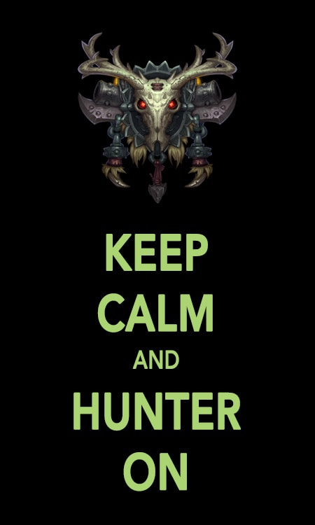 keep_calm_and_hunter_on
