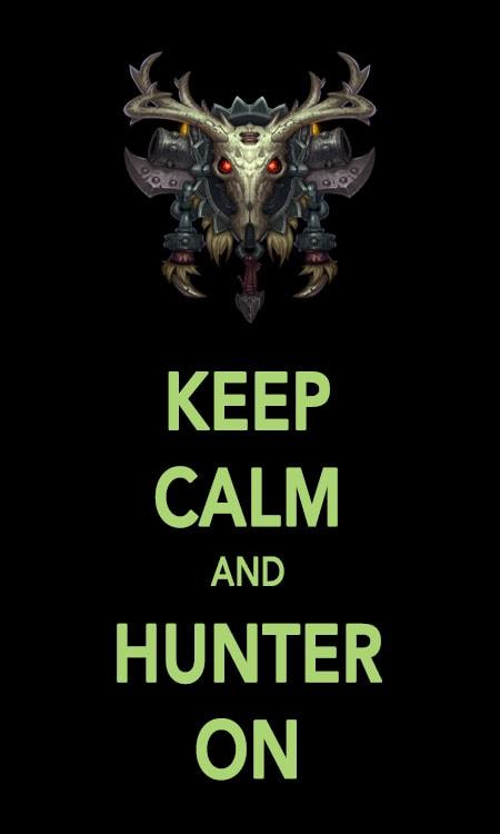 keep_calm_and_hunter_on