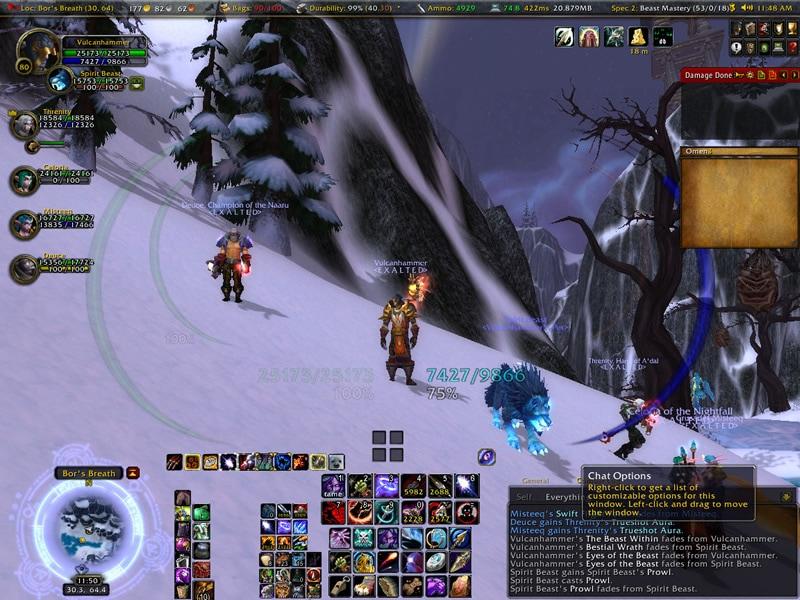 Skoll tamed by Vulcanhammer of Aman'Thul (server first)
